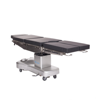 Manual hydraulic operating table stainless steel