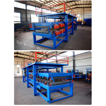 EPS and Rock Wool Sandwich Panel Production Machine