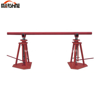 Cable Reel Stand For Wire Releasing Hydraulic Type