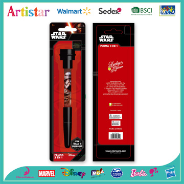 Star Wars bubble seal pen