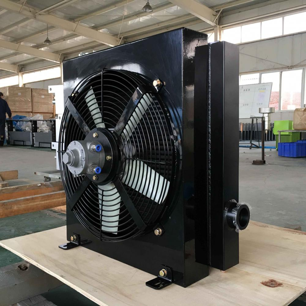 Plate Fin Air Compressor Aftercooler With 375cfm