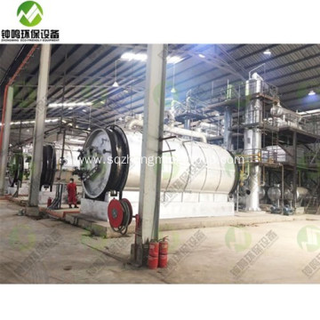 Waste Engine Oil to Recycling Plant