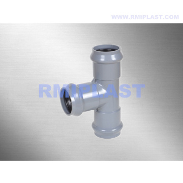 PVC Tee Insert End And Spigot End
