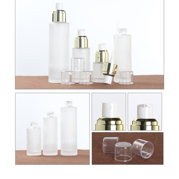 Spray glass bottles cream eye cream empty bottle