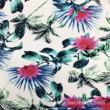 Hawaii Design Floral Printing 100% Rayon Clothing Fabric