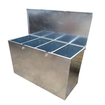Adjustable Metal Animal Feed Bin
