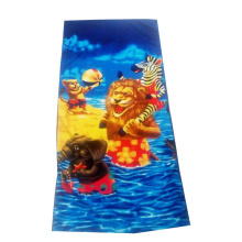 mens blue color beach towel cotton thick customised