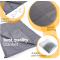 kid weighted blanket with removable cover