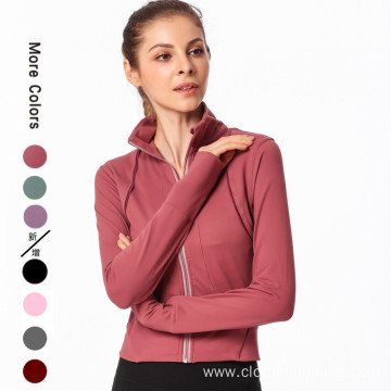 yoga jacket for women long sleeve