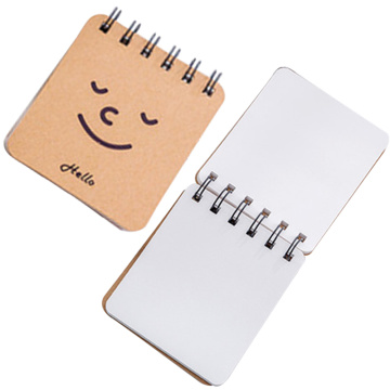 Cute Hard Cover Custom Small Spiral Notebook