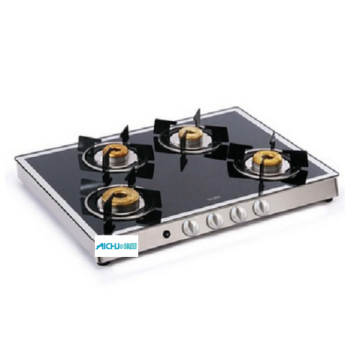 4 Burner Gas Cooktop Forged Burners