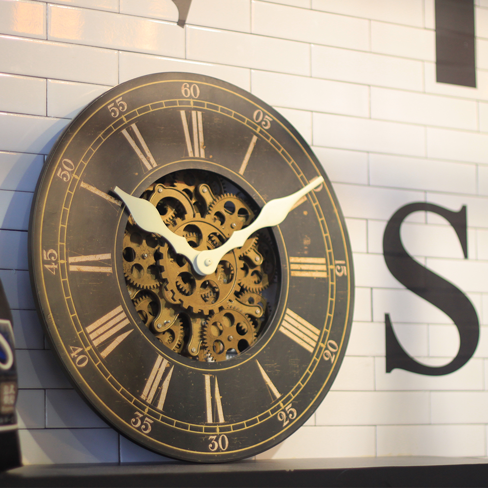 Large Chiming Wall Clock