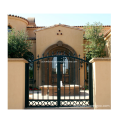 Unique Security Double Swing Wrought Iron Gates