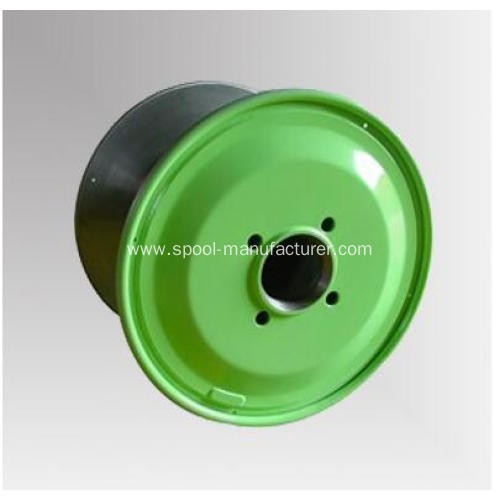 double-skin machined steel cable reel