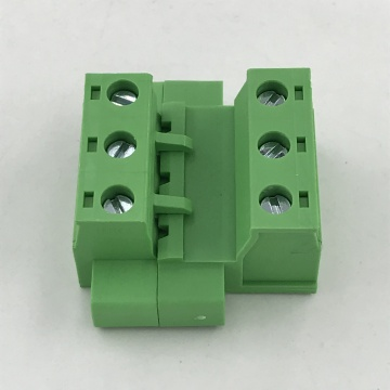7.62 pluggable male and female terminal block