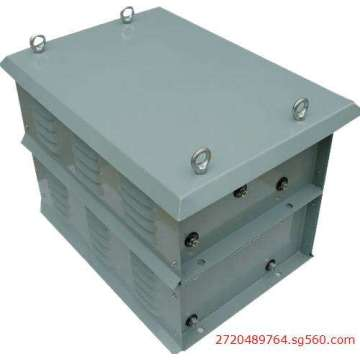 Tower crane resistance control box