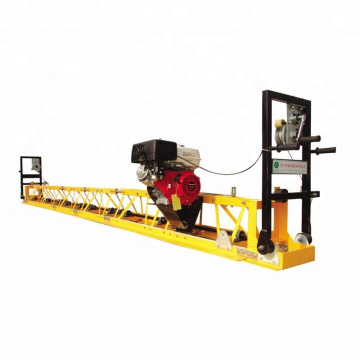 Vibrating / vibratory floor leveling surface finishing screed machine