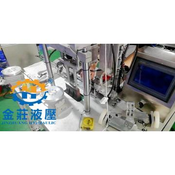 Disposable earband welding machine