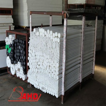Extruded HDPE 500 Polyethylene Solid Round Rod