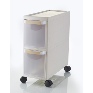 4 layers plastic drawer storage cabinet