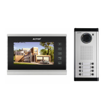 7-inch wired video intercom system multi unit