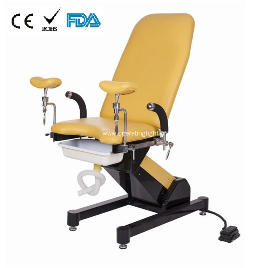 Obstetric examination table delivery beds