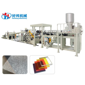 ABS PC PMMA SHEET EXTRUSION MACHINE PLANT