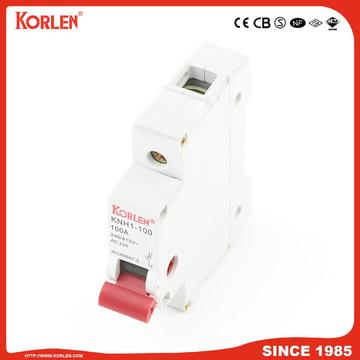 DIN Rail Isolator switch KORLEN KNH1 100A 3p