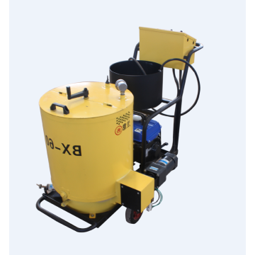 Road surface concrete joint crack sealing machine