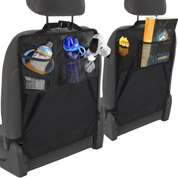 Waterproof Car Backseat Organizer Kick Mat for Kids