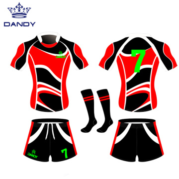 sublimation rugby football wear rugby uniform