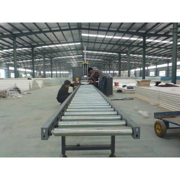 Profile horizontal/orbital stretch wrapping machine
