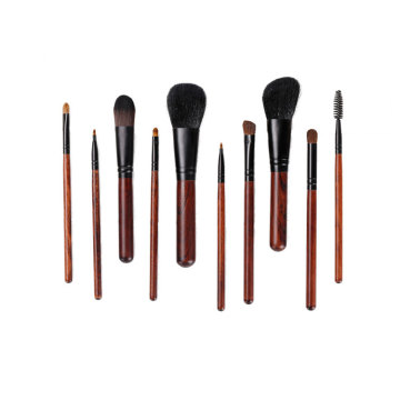 wool hair 10 pieces makeup foundation brushes