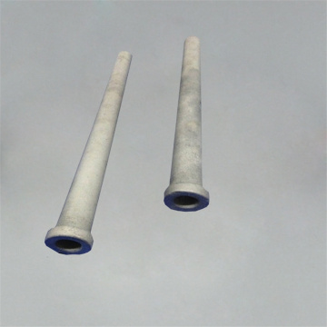 Protection tube for high temperature assemblies