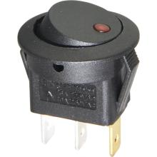 Round Rocker Switch avaible with LED Lamp