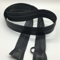 Slap-up 2 way black nylon zipper for clothing