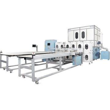 Automatic Feather Pillow and Feather Quilt Filling Machine