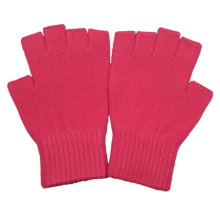 Warm Half-Finger Magic Acrylic Knitting Gloves