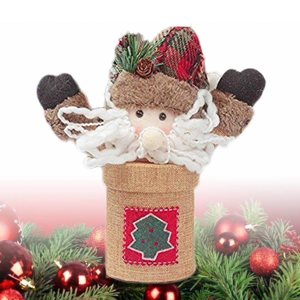Christmas Candy Jar Sugar Storage Box