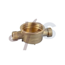 Brass Single-jet water meter body