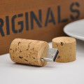 Cylinder Wood Design USB Flash Drive Light