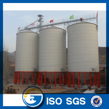 Hot-galvanized steel grain silo