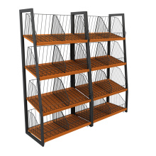 Simple Style Fruit and Vegetable Display Shelving Units