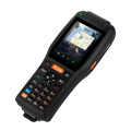 Industrial Rugged scanner PDA terminal with printer
