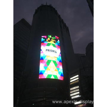 12,000nit outdoor glass wall led display