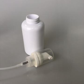 round PET bottle with foam pump 180ml