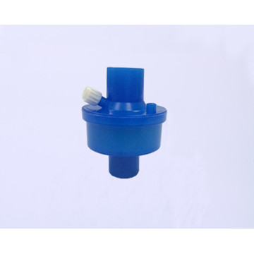 Disposable Heat Moisture Exchanger Filter blue