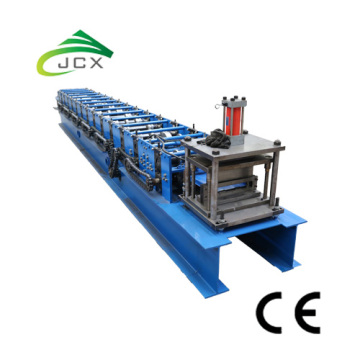 Self locking standing seam roof machine