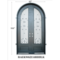Western Style Fashion Top Quality Iron Door