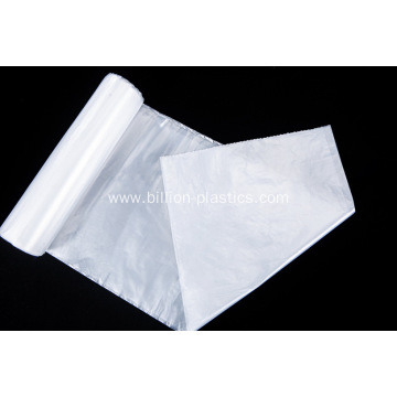 White color WC office bin liners trash bag